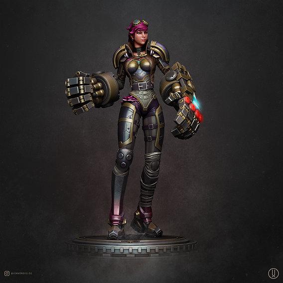 VI - League of Legends 3D print model