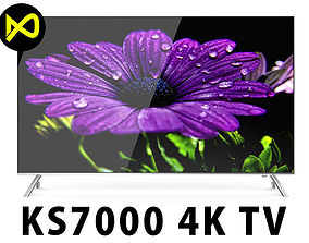 Samsung KS7000 SUHD 4K TV Series 55 inch 3D model