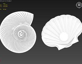 3D Two Shells Suitable for Embossing Hot Foil Technique