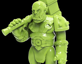 Orc figurine 3D print model activity