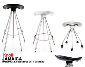 3D Knoll Jamaica Chair Barstool