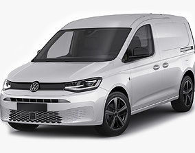 Volkswagen Caddy Van 2021 3D model