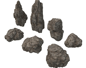 Rock and Stone 2 3D model