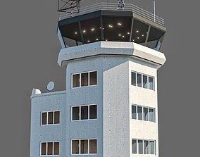 3D asset game-ready air port tower