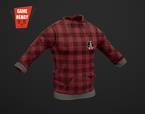 3D model Sweatshirt PBR GameReady