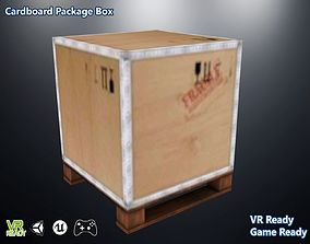 3D asset Cardboard Package Box