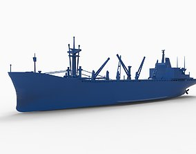 ship mod12 3D print model