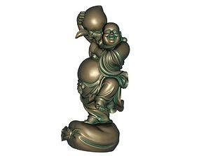 Maitreya scan 3D print model 3D model low-poly