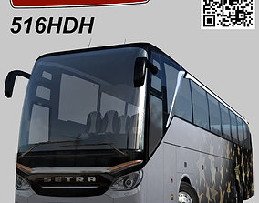 Setra S 516 HDH 3D model