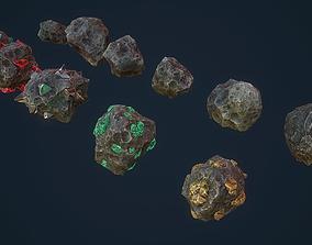 3D model Asteroids -Meteorite PBR