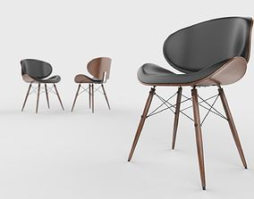 Mid Century Modern Chair 3D