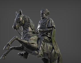 3D printable model Menelik II EMPEROR OF