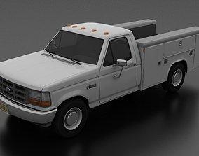 F-350 1992 Service Utility Truck 3D model