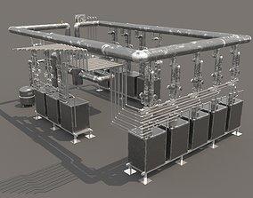 3D other Industrial boiler room