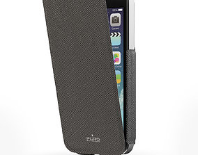 Apple iPhone 5S with Case Puro Ultra Slim 3D model