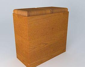Kitchen Red Fair Cabinet 3D model kitchen cabinet