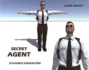 Secret Agent 3D asset