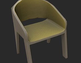 comfort Chair 3D model low-poly