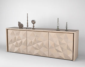 Fendi Madia Crystal Sideboard 3D room