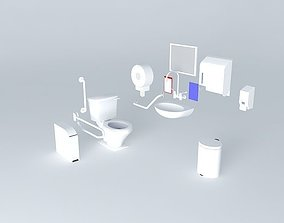 Eoilet Equipments 3D