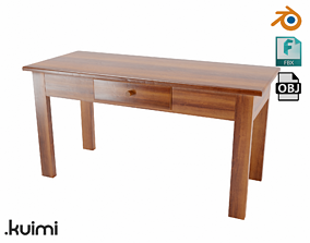 3D model Simple Classic Table
