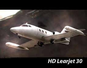 3D model High Poly Private Jet