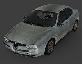 Alfa Romeo 156 RAW Scan 3D model