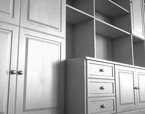 Sideboard Bookshelves 3D