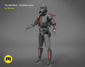 The Bad Batch Crosshair armor 3D printable model