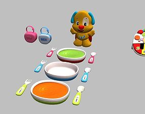 Set moms Utensils 3D model