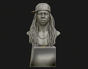 Lil Wayne 3D printable model