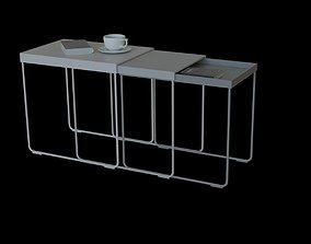 IKEA granboda nesting table 3D