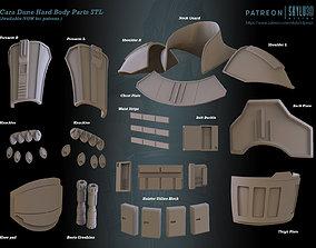 Cara Dune Body Hard Armor - Vest - dummy 3D print model 3