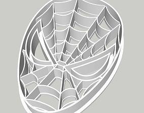 Spiderman Cookie Fondant Cutter 3D printable model
