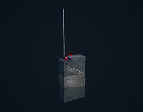 Detonator 3D asset
