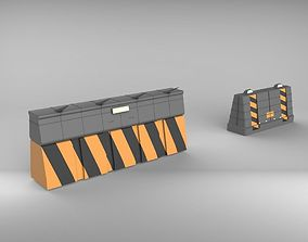 3D model Road Barrie