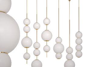 Chandelier beads Lampatron 3D model