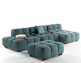 Tufty Time Sofa 3D
