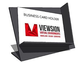 Business Card Holder shelving 3D print model