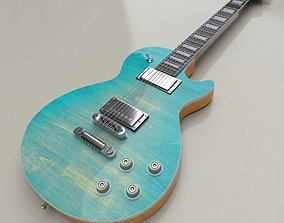 3D asset Monoprice Indio 66 DLX in Gibson Les Paul 2