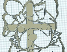 Simones Cortantes de Galletitas PugCookie Cutters 3D 1