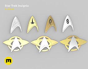 Star Trek insignia 3D printable model