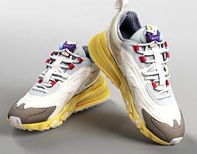001213 Nike Air max 270 cactus trails sneaks 3D model