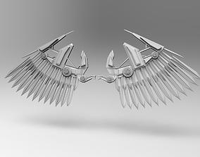 mech wings 3D model