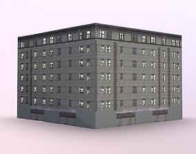 3D asset realtime Industrial building