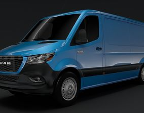 3D model RAM Sprinter Panel Van L2H1 FWD 2019
