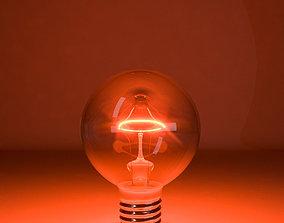 Tungsten lamp model-10 3D