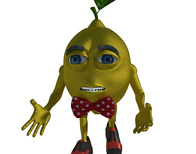 Lemon Man 3D Character rigged