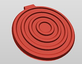 QI WIRELESS CHARGER STYLE 3 3D printable model