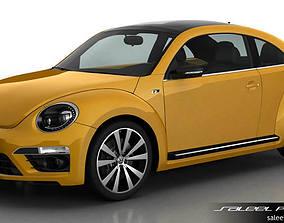 3D VW Beetle R Line 2014